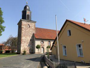St. Petri Kirche und alte Schule Hammenstedt