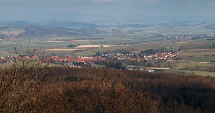 Hammenstedt Ansicht gesamter Ort