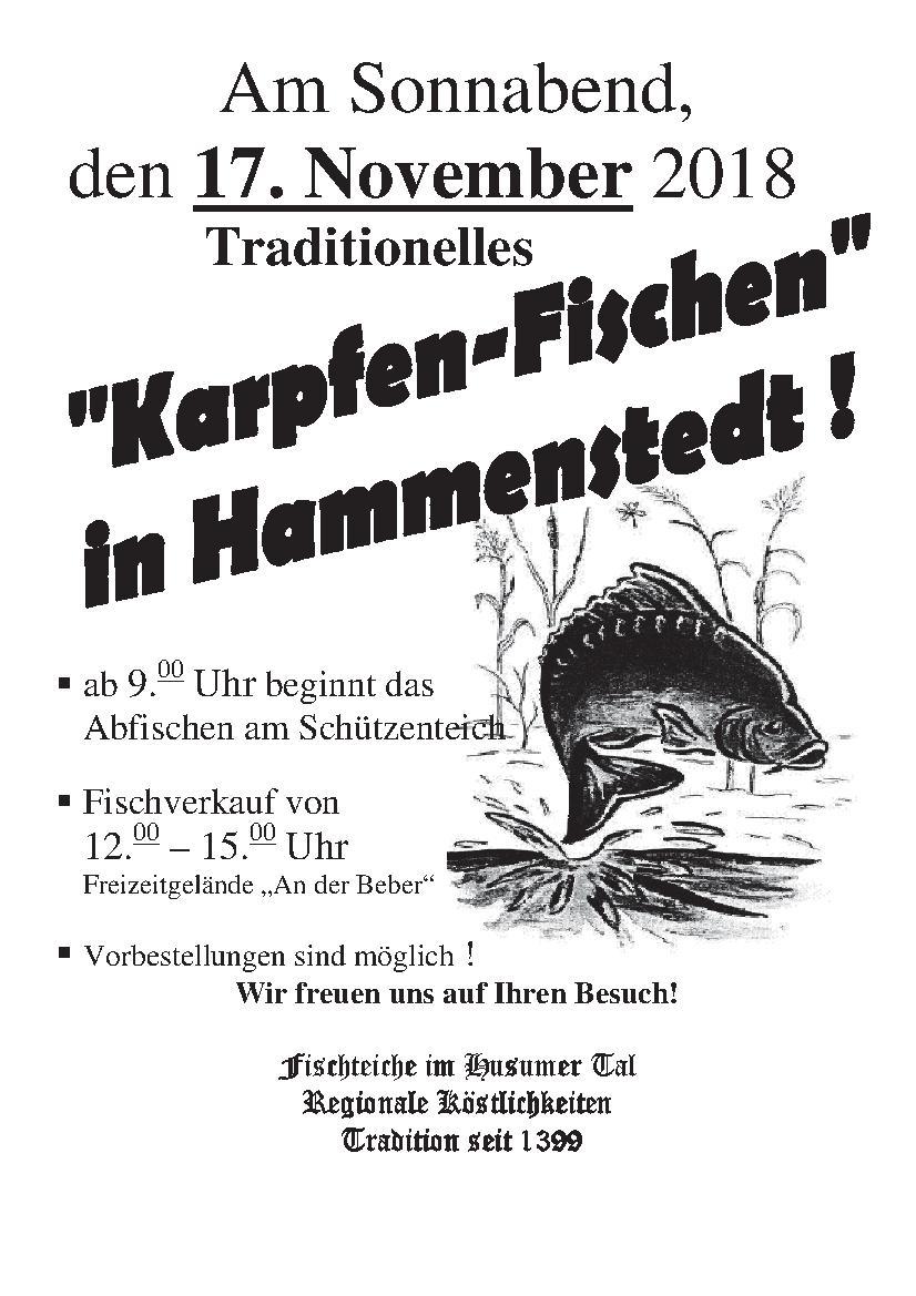 Abfischen Hammenstedt 2018 Einladung