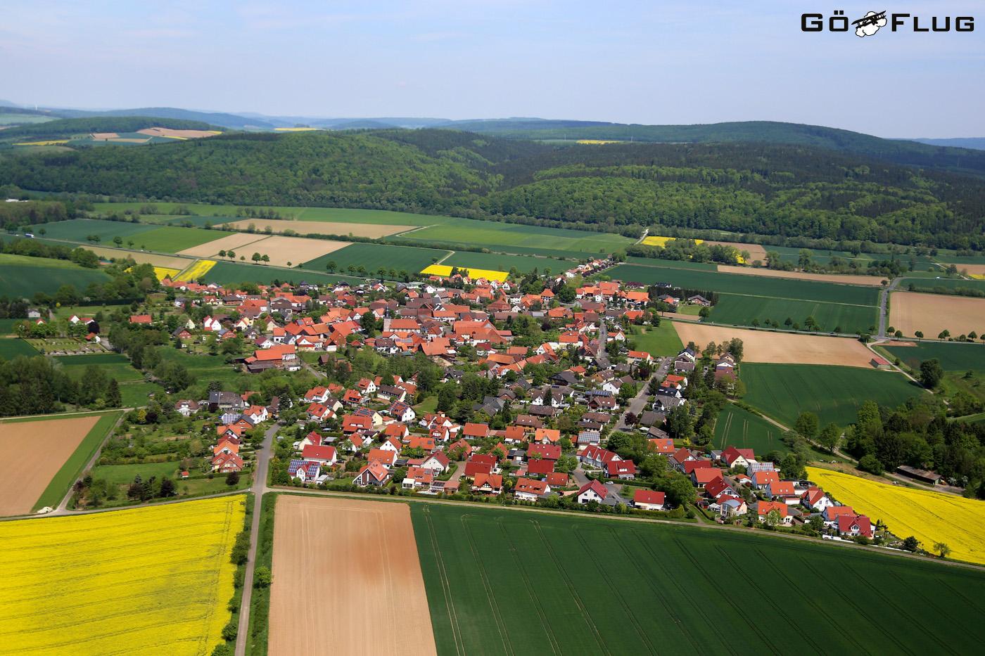 Luftaufnahme Hammenstedt (Germany)