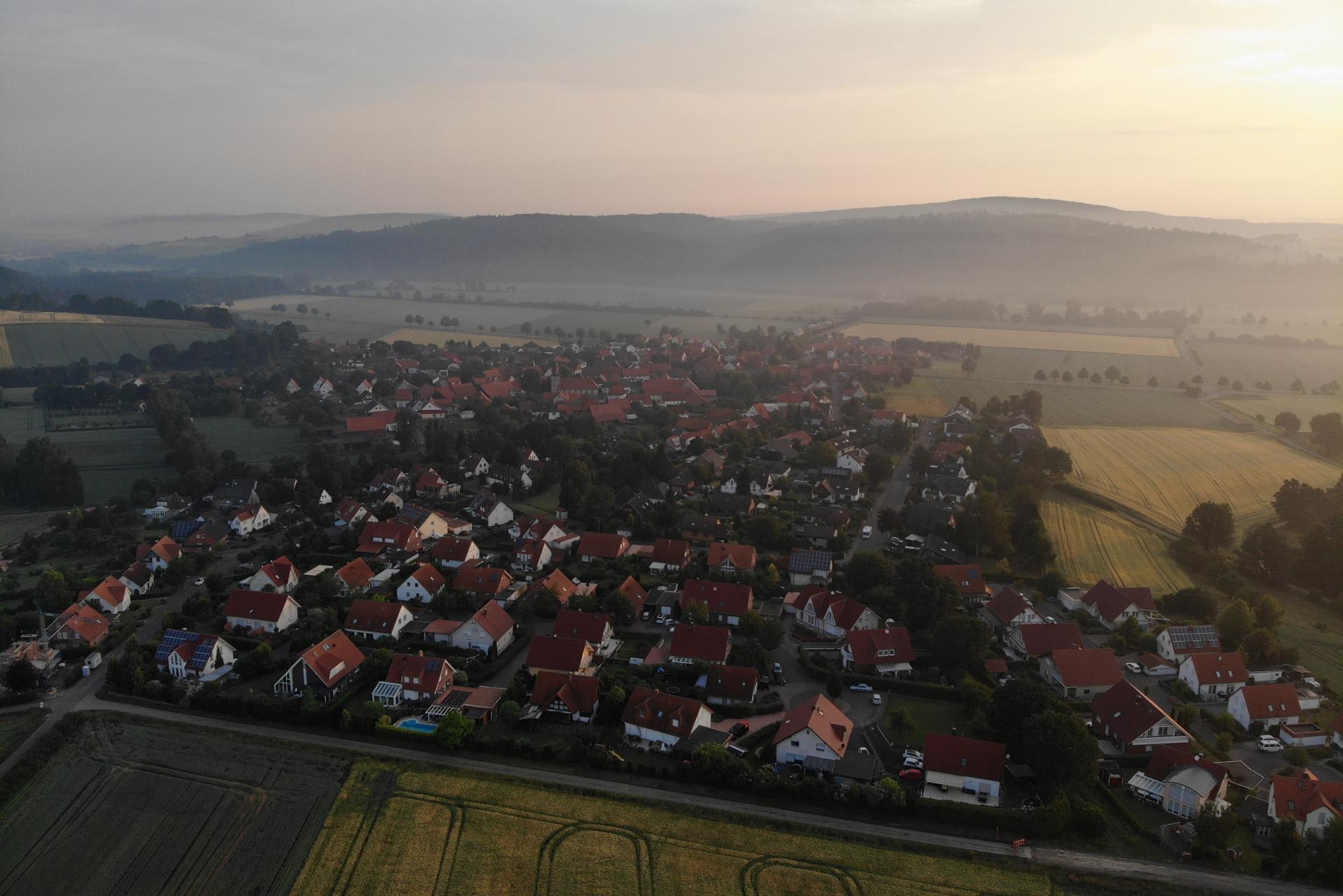 Hammenstedt Luftaufnahme